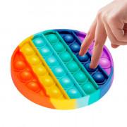Игрушка-антистресс POP IT пупырка OBY TOYS Круг mix Разноцветный