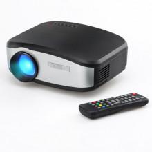 Портативный проектор Cheerlux C6 Pro Черно-серый
