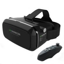 3D очки виртуальной реальности ТРМ VR SHINECON c пультом черный (44414)