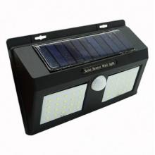 Светодиодный уличный светильник Solar 1626A LED навесной настенный от солнечной батареи с датчиком движения