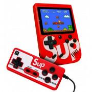 Портативная игровая ретро приставка SUP Game Box + джойсик 400 игр Dendy 8bit SUP Game Box Red